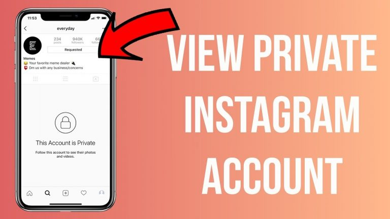 How to view Private Instagram Profile without Following