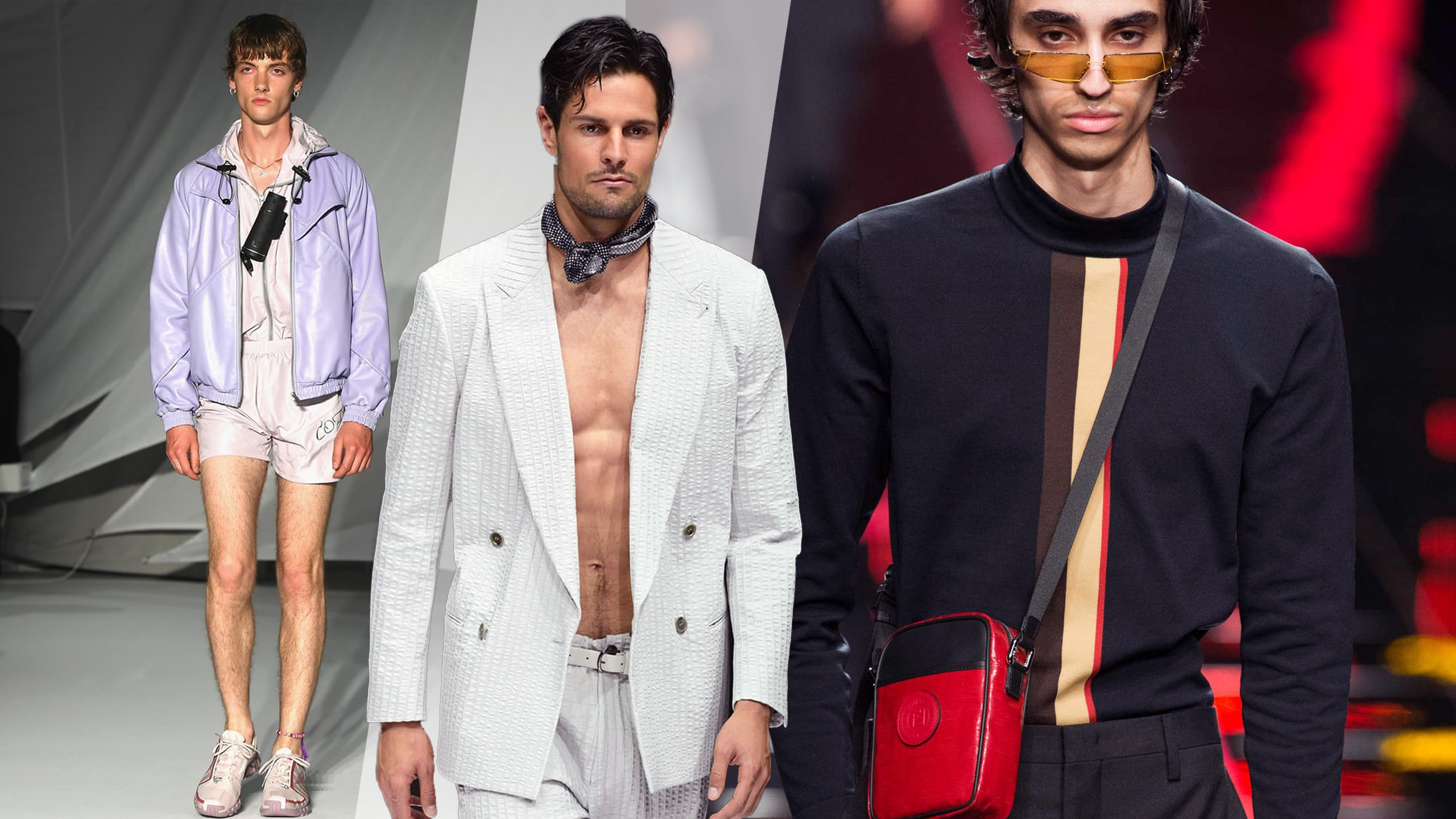 Male Fashion Trends for Spring-Summer 2019